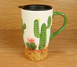 Tribeca Cactus Travel Mug