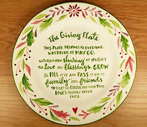 Tribeca The Giving Plate