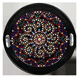 Tribeca Mosaic Mandala Tray