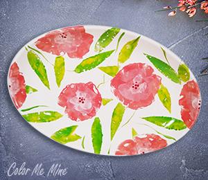 Tribeca Floral Paper Stamping