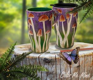 Tribeca Mushroom Mugs