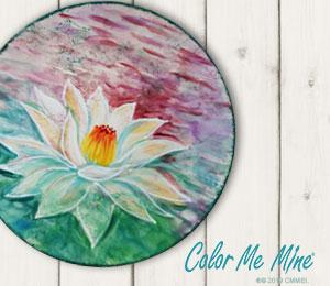 Tribeca Lotus Flower Plate