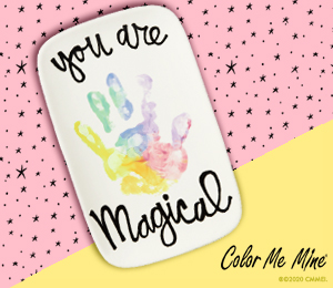 Tribeca Rainbow Hand-print